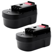2x Batteria Black & Decker CS143 / CS143K - 3Ah
