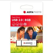 Agfa Photo Usb 2.0 8gb One Size Silver
