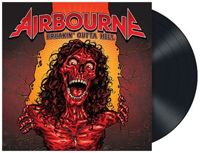 Airbourne Breakin' outta hell LP - multicolored onesize