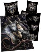 Anne Stokes Wolf Set letto - multicolored onesize