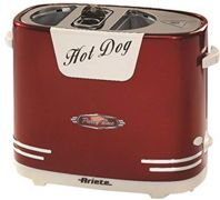 ARIETE Hot dog maker, 650 Watt, Rosso - 186