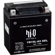 Batterie e caricabatterie Hi-q Gel Battery Gel 10l A2/yp10l A2 Sealed 12 V / 11 Ah