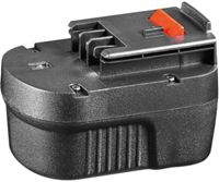 BMA 12BD-4 - Replacement battery for BLACK&DECKER devices, 12 V