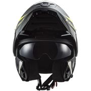 CASCO MODULARE LS2 FF902 SCOPE SKID BLACK H-V YELLOW Taglia XL