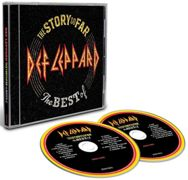 Def Leppard The story so far: The best of Def Leppard CD - multicolored onesize
