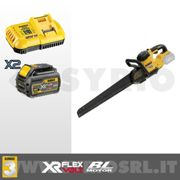 DEWALT DCS398T2-QW SEGA ALLIGATOR 54V XR FLEXVOLT BRUSHLESS + 2 BATTERIE 6.0 AH + CARICABATTERIE