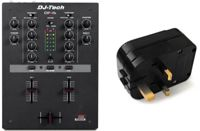 DJ-Tech DIF-1S + UK Adapter