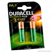 Duracell Value Precharged 1300mAh Pile Ricaricabili Stilo AA - Blister 2 Batterie