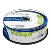 DVD-R MediaRange 4,7GB 120 Minuti Cake 16X Vergini Vuoti dvd -R Originali Box MR403