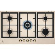 Electrolux KGS9536RS Piano Cottura gas 90 cm sabbia griglie in ghisa