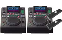 Gemini MDJ-600 Bundle + 2x DJ USB Stick