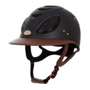 Gpa FIRST LADY - Casco da equitazione Donna black/chestnut