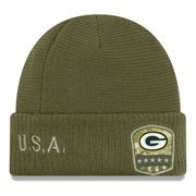 Green Bay Packers New Era 2019 On-Field Salute to Service cappello invernale