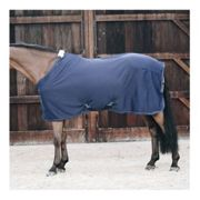 Kentucky FLEECE - Coperta assorbente navy