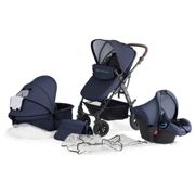 Kinderkraft Moov Passeggino combinato 3in1 Navy