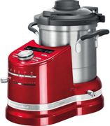 KITCHENAID Robot Multifunzione con Cottura Artisan, Rosso Imperiale - 5KCF0104EER