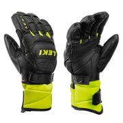 LEKI Guanti junior HS WORLDCUP RACE FLEX S J - 6 - BLACK-YELLOW
