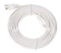 Lindy Cat6 Flach-Cable 2m White