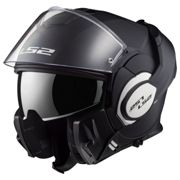 Ls2 FF399 VALIANT Single Mono Matt Black / Casco Modulare Apribile
