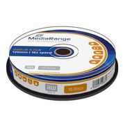 MediaRange DVD+R 4.7GB 120min 16x speed, Cake da 10 pezzi - MR453