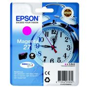 Originale Epson WorkForce WF-3620 WF Cartuccia d'inchiostro (27 / C 13 T 27034012) magenta, 300 pagine, 3,0 cent per pagina, Contenuto: 3 ml