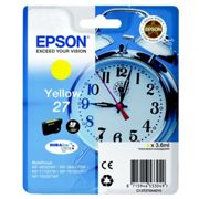 Originale Epson WorkForce WF-3620 WF Cartuccia d'inchiostro (27 / C 13 T 27044012) giallo, 300 pagine, 3,0 cent per pagina, Contenuto: 3 ml