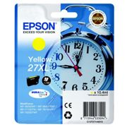 Originale Epson WorkForce WF-3620 WF Cartuccia d'inchiostro (27XL / C 13 T 27144012) giallo, 1.100 pagine, 2,12 cent per pagina, Contenuto: 10 ml