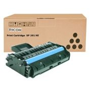 Originale NRG SP 201 nw Toner (TYPE SP 201 HE / 407254) nero, 2.600 pagine, 3,03 cent per pagina