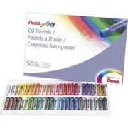 Pentel Arts Assorted Color Oil Pastels (Pack of 36)