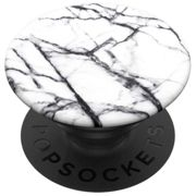 Popsockets Grip Stand Holder One Size Dove White Marble