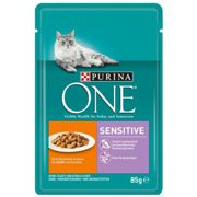 Purina One Purina ONE Sensitive Pollo e Carote - 12 x 85 g