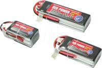 RD SLP 2700 S3 - Batteria LiPo RED POWER SLP, 11,1 V, 3 S, 2700 mAh