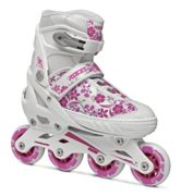 Roces Compy 8.0 Girl - pattini inline - bambina 30/33 EUR White/Pink junior