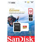Sandisk Micro Sdhc Action Sc 32gb A1 One Size Black / gold