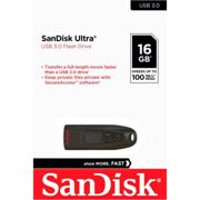 Sandisk Ultra Usb 3.0 16gb One Size Black