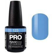 Smalto semi-permanente Hybrid Shine Mollon Pro Royal Blue - 123