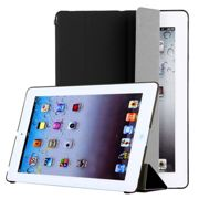 Smart Cover per Apple iPad 2 / iPad 3 / iPad 4 (Wake / Sleep), Materiale sintetico, nero Custodia