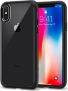 Spigen Custodia Cover per Apple iPhone X Tecnologia Ultra Hybrid colore Nero Matt - 057CS22129 Ultra Hybrid