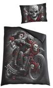 Spiral Skull N' Roses Set letto - multicolore onesize