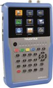 TELESTAR 5401253 - Level meter, satellite measurement device, 5'' LCD display