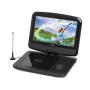 "Trevi DVBX 1418 HE Portable DVD player Convertibile 9"" 800 x 480Pixel Nero"