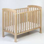 Troll Nursery Nicole Bed Cot 120x60 with teether Natural