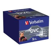 Verbatim 5 Videocassette Mini DV 60 min - in pack - 47652