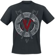 Vikings - Odin - T-Shirt - Uomo - nero 3XL