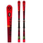 VOLKL Sci RACETIGER GS PROw WC PC-PLATE + XCELL 12 GW 90MM BLACK - 180 - DARK RED