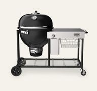 Weber 18501104 Summit Kamado S6 Barbecue a carbone Grill Center