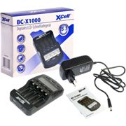 Xcell Quick Charger Bc-x1000 Digital Lcd One Size