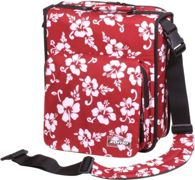 Zomo CD-Bag Large Premium Flower LTD rosso/nero